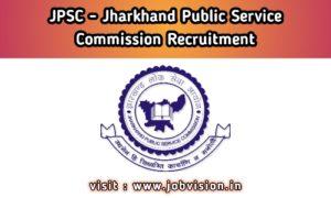 JPSC - Jharkhand Public Service Commission