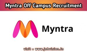 Myntra Off Campus Drive