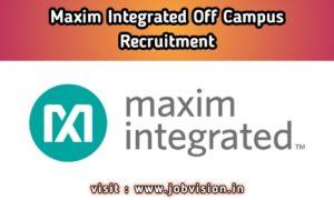 Maxim Integrated Recruitment