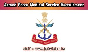Indian Army Recruitment 2020 | Armed Forces Medical Services