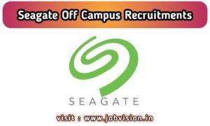 Seagate Off Campus Drive
