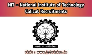 NIT - National Institute of Technology Calicut