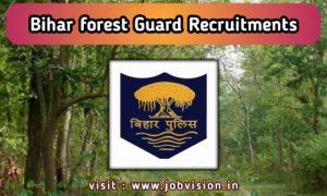 Bihar Forest Recruitment