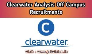 Clearwater Analytics Recruitment