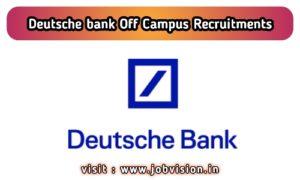 Deutsche Bank Off Campus Drive