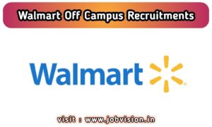 Walmart Labs Recruitment