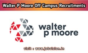 Walter P Moore Recruitment