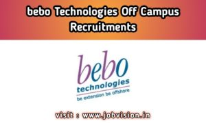 Bebo Technologies Off Campus Drive