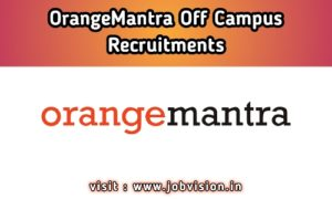 OrangeMantra Off Campus Drive