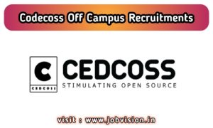Cedcoss Off Campus Drive