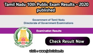 TN 10th Result