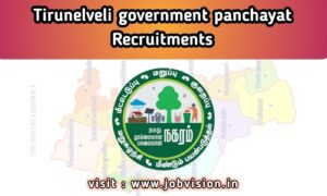 Tirunelveli District Jobs