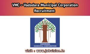 VMC - Vadodara Municipal Corporation