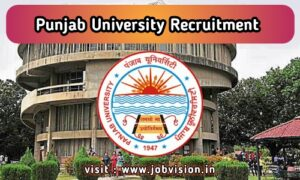 Panjab University Recruitment 2020 | Assistant Professor Vacancies | 22 Vacancies | Walk-in-Interview