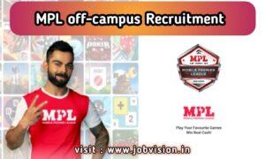 MPL off campus drive 2020