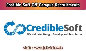 CredibleSoft Off Campus Drive