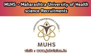 MUHS - Maharashtra University of Health Sciences