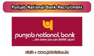 PNB - Punjab National Bank Recruitment