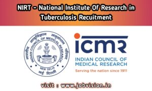 NIRT Recruitment ICMR