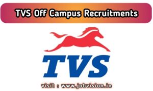 TVS Motor Jobs 2020 | Design Engineer & Other Posts  | Apply for TVS Motor Company Hosur