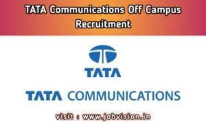 Tata Communications Recruitment