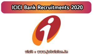 ICICI Bank Recruitment