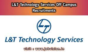 L&T Technology Services Recruitment
