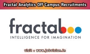 Fractal Analytics Off Campus Drive