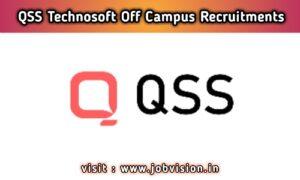 QSS Technosoft Off Campus Drive
