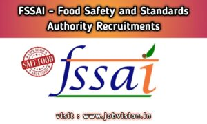 FSSAI Food Safety and Standards Authority of India