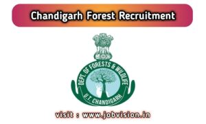 Chandigarh Forest Recruitment