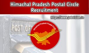 Himachal Pradesh Postal Circle Recruitment