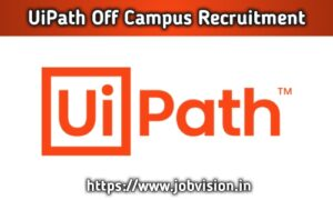UiPath Off Campus Drive