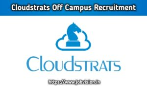 Cloudstrats Technologies Off Campus Drive