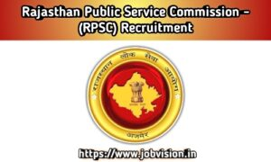 RPSC Rajasthan Public Service Commission Recruitment