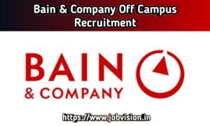 Bain & Company Off Campus