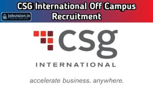 CSG International Recruitment