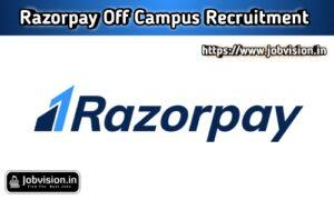 Razorpay Off Campus Drive