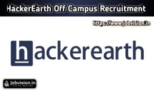HackerEarth Off Campus Drive