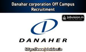 Danaher Corporation Recruitment