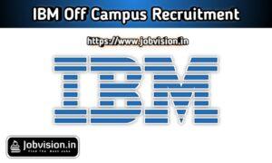 IBM off campus Recruitment