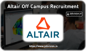 Altair Fresher Jobs