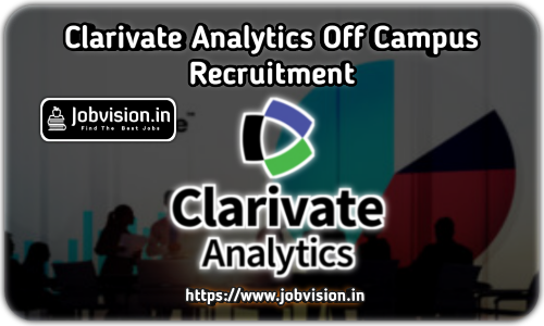 Clarivate Analytics Off Campus Drive 2021