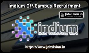 Indium Software Off Campus Drive