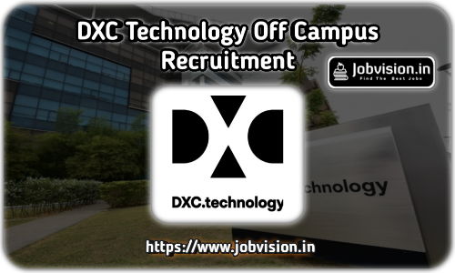 DXC Technology Off campus Driver 2021