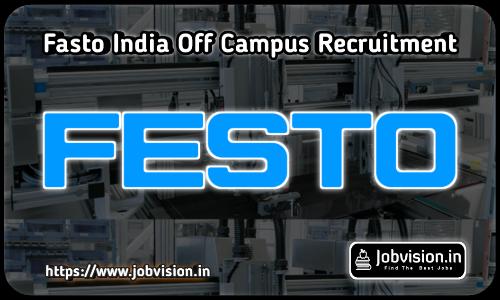 Festo India Off Campus Drive 2021