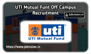 UTI Mutual Fund Off Campus Drive