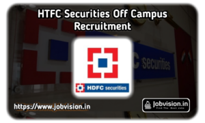 HDFC Securities Off Campus Drive