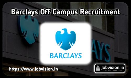 Barclays Recruitment 2021