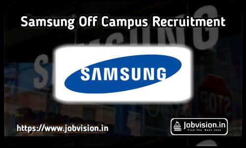 Samsung Off Campus Drive 2021
